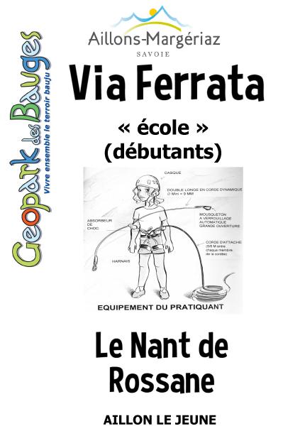 Via Ferrata Nant de Rossane
