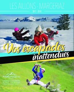 Brochure Aillons-Margériaz Hiver 2017/2018 et Eté 2018