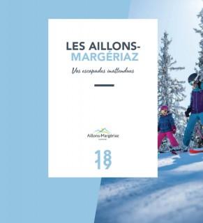 Brochure Aillons-Margériaz Hiver 2018/2019 Eté 2019