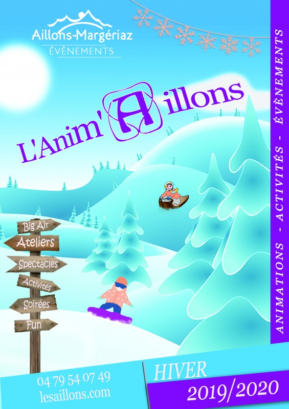 Programme des animations : Anim'Aillons