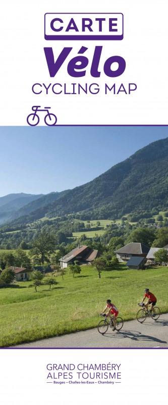 Carte Accueil Vélo - Chambéry et Bauges