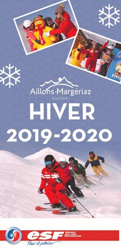 Ecole de Ski Français - Aillons-Margériaz -  hiver 2019 / 2020