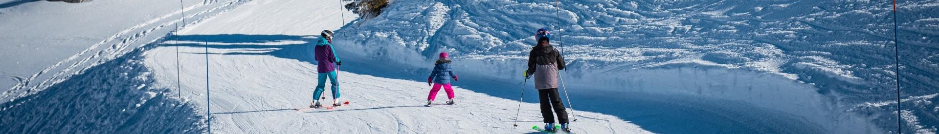 Ski alpin en famille aux Aillons-Margériaz