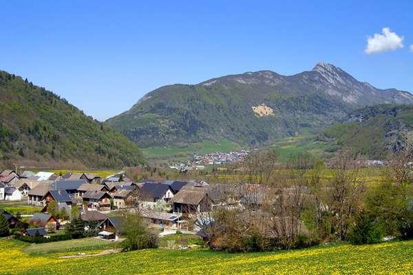The 14 villages of the Bauges region