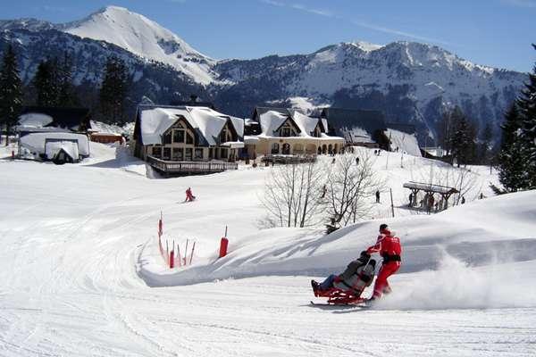 Tandem ski et Handiski