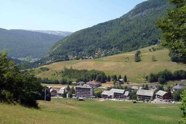 Le village, Aillons-Margériaz 1000 et 1400