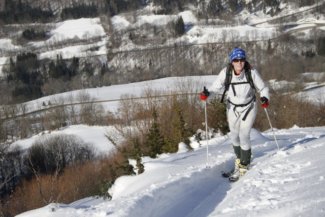 Ski de randonnée accompagnée