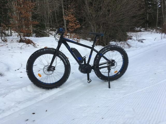 VTT sur neige