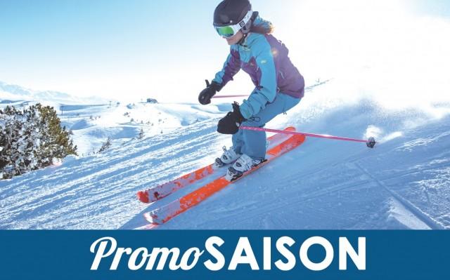 Forfait de ski à la saison promo