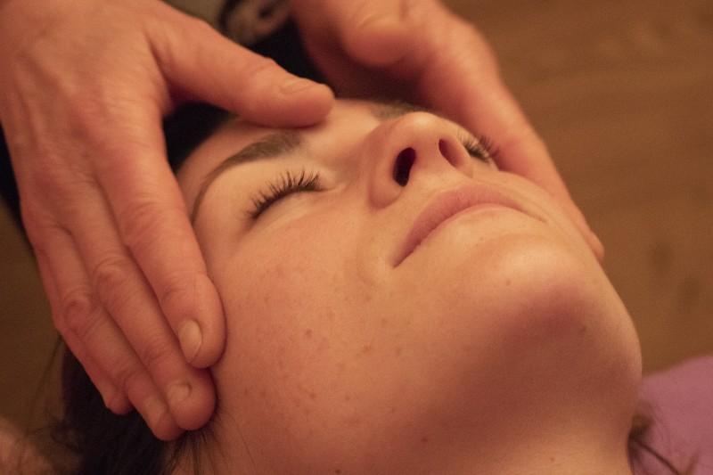 Massage trois rides par Peau'z Douceur