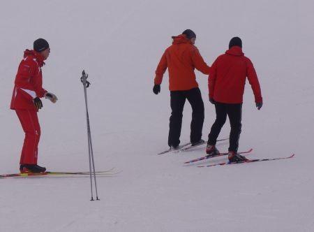 initiation ski de fond