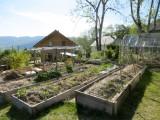 Visite du jardin au refuge des Graines