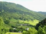 Vue du séjour sur le mont Pelat et la vallée du Lindar, plein sud