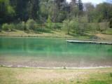 Plan d'eau Lescheraines pour baignade (1er lac)