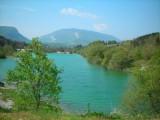 Plan d'eau à Lescheraines (2ème lac)
