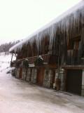 Extérieur sous la neige