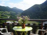 vue du chalet sur la vallée d'Aillon
