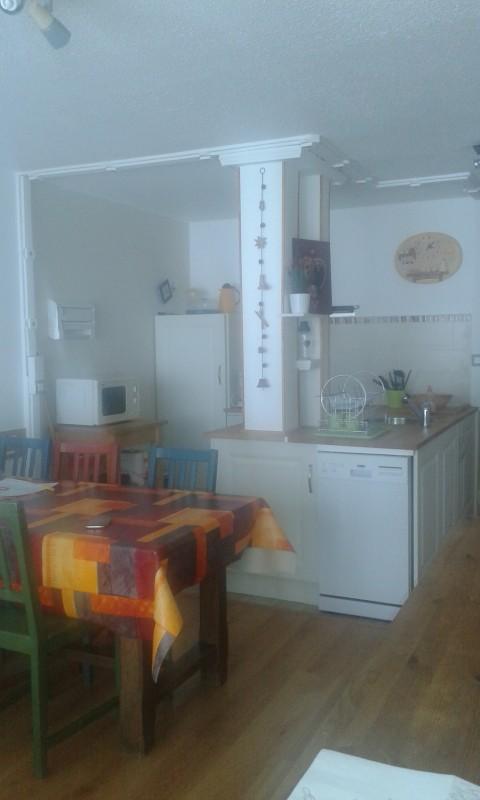 cuisine et salon salle à manger sans couchage