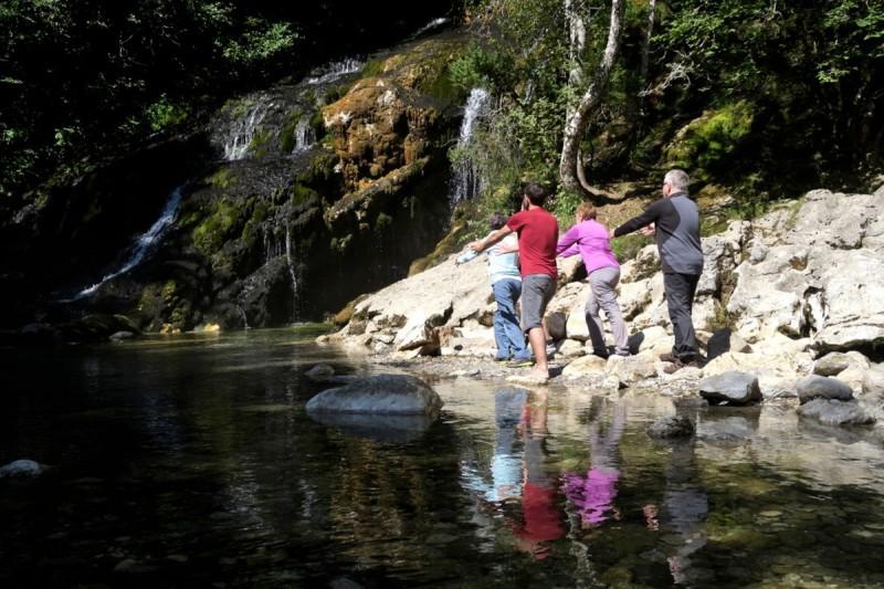 Qigong à la cascade du Pissieu